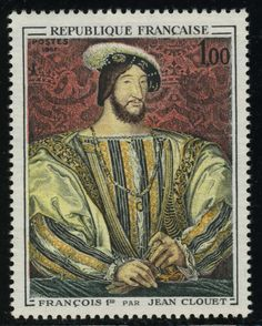 French stamp 1967