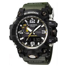 Robuste et fonctionnelle, cette montre pour homme de la collection MudMaster est signée G-Shock Premium. Elle arbore un large boîtier noir mélangeant acier e...