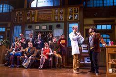 'SCHOOL OF ROCK': Alex Brightman & the adult ensemble. Photo: Matthew Murphy