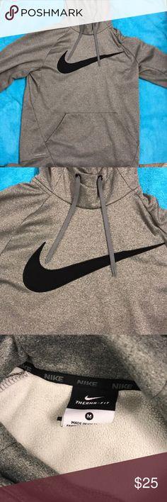 NEGOTIABLE/Nike sweatshirt Very warm Nike sweatshirt/ grey/ comfortable Nike Tops Sweatshirts & Hoodies