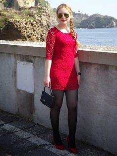 red dress/ vestitino rosso