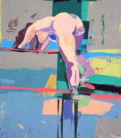 "Kim Frohsin - ""M. COURBET RECALLED"" 2007"
