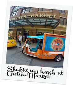 Ginger at the Chelsea Market in New York City on the 2015 Summer Tour! Where will she go this summer? Read the blog to find out!