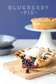 Two Little Berry Pies Blueberry Pie Recipes, Blueberry Pies, Tart Recipes, My Pie, Fruit Pie, Sweet Pastries, Cheesecake Pie, Sweet Pie, Pie Dessert