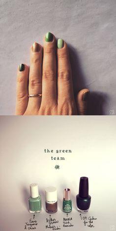 Hue manicure on the Creative contente blog #nailart #hue #trendalert #frenchblogger