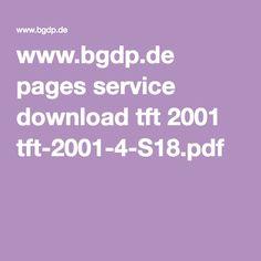 www.bgdp.de pages service download tft 2001 tft-2001-4-S18.pdf