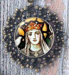 St. Dymphna, Patron Saint of Those Suffering with Depression, Anxiety,