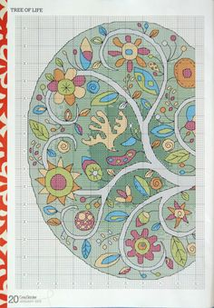 ru / Photo # 13 - CrossStitcher 261 January 2013 - tymannost tree of life Cross Stitch Tree, Cross Stitch Boards, Cross Stitch Needles, Cross Stitch Heart, Cross Stitch Flowers, Diy Embroidery, Cross Stitch Embroidery, Machine Embroidery, Cross Stitch Designs