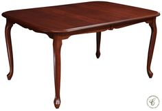 Queen Anne Dining Tables From Countryside Amish Furniture