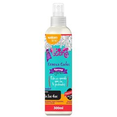 Spray Térmico - Renova Cachos - #todecacho {Pode Vir Quente Que Eu Tô Podendo} 300ml Salon Line - Loja da Salon Line