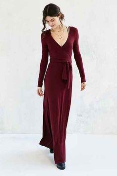 Bec & Bridge Magic Night Wrap Dress - Urban Outfitters