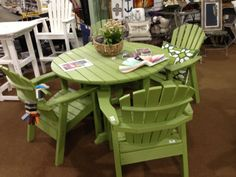 Patio Furniture - would love this on my patio  - it's made by Seaside Casual