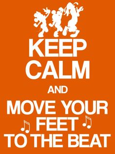 Filler Card - Keep Calm and Move your Feet to the Beat - 3x4 photo dis_294O_keepcalm_move_your_feet.jpg