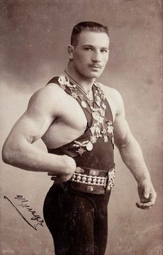 Hot Vintage Athletes, 1890's to 1920's