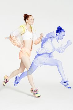 Refinery29's Fit Parade Photo Shoot