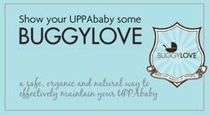Show your UPPAbaby some BUGGYLOVE - the safe, organic and 100% natural solution to clean your stroller! Tested and Approved by UB