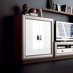 Aparador 1 de 15 | Muebles Saskia en Pamplona Pamplona, Lockers, Locker Storage, Cabinet, Furniture, Home Decor, Swinging Doors, Wood, Interiors