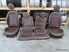 2008-2014 Mini Cooper Clubman Interior Seats Set Hot Chocolate R55 69
