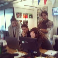 We have lots of ladies now working at Demotix! Brilliant! - @demotix- #webstagram