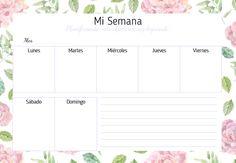 Agenda Planner, Weekly Planner, Printable Planner, Planner Stickers, Daily Organization, Life Hacks For School, Print Calendar, Digital Scrapbook Paper, Study Inspiration