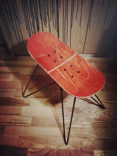 Skateboard Headboard broken skateboard wall decor | for the home | pinterest