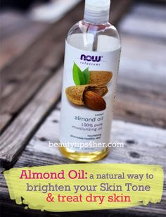 10 Amazing Ways to Use Almond Oil for Dry Skin - Natural Beauty Skin Care Oil For Dry Skin, Dry Skin On Face, Coconut Oil For Skin, Oils For Skin, Oily Skin, Sensitive Skin, Almond Oil Uses, Face Scrub Homemade, Pure Oils