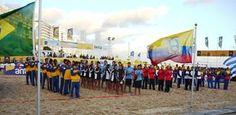El jueves fue inaugurado el V Campeonato Panamericano de Beach Handball, en el Estadio Arenas del Plata, de la playa Pocitos, donde participan las selecciones de Argentina, Brasil, Paraguay, Venezuela, Ecuador y, por supuesto, Uruguay.