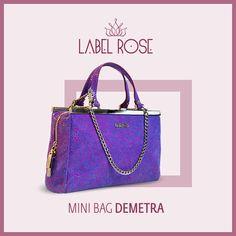 #Bags #Fashion #Borse #Accessories #Woman #ModaDonna #DemetraBag www.labelrose.it