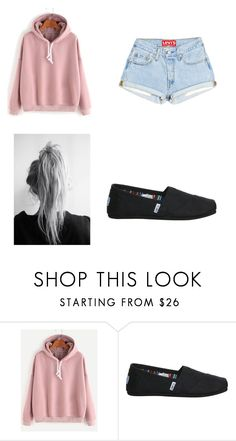 """""""Untitled #22"""" by littlenerdrosey17 ❤ liked on Polyvore featuring TOMS"""