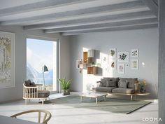 LOOMA - scandinavian interior rendering