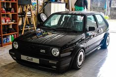 Vw Performance, Corvette Wheels, Jetta Gti, Volkswagen Golf Mk2, Rat Look, Car In The World, Bmw, Cars And Motorcycles, Vintage Cars