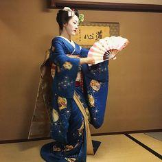 芸妓さんと舞妓さんのブログ (Meeting a maiko Tomitae by @little.valleys on...)