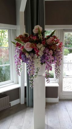 Bloemstuk Bruiloft - Bruidsbloemstukken voor de aankleding van uw bruiloft