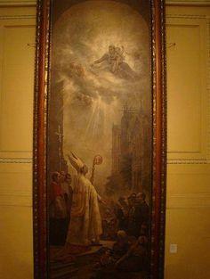 Invocação à Virgem- Pintor: Vitor Meireles - 1898