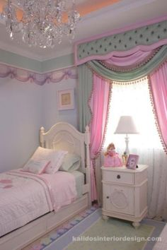 Nice colors girl bedroom