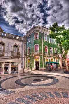 Downtown Lagos, Portugal