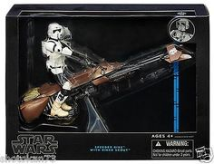TV Movie and Video Games 75708: Hasbro Star Wars The Black Series Speeder Bike Vehicle With Biker Scout New... -> BUY IT NOW ONLY: $38.98 on eBay!