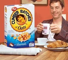 Dry Breakfasts | 10 Awful Things Made Awesome By Adding Benedict Cumberbatch