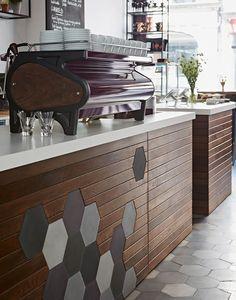 he Curators Coffee Gallery in London, by interior designer Ana Foster-Adams