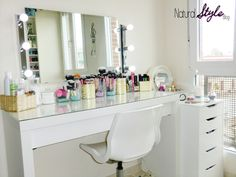 NaturalStyle: ★MI TOCADOR★ Organización de maquillaje