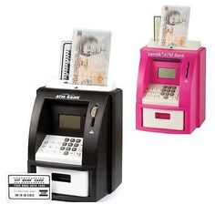 #Electronic coin note money counting #digital piggy bank atm box #saving safe new, View more on the LINK: http://www.zeppy.io/product/gb/2/252186058481/