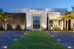 Lakeside modern residence. Affiniti Architects, Boca Raton,...