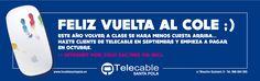Vuelta al cole... Internet 26€ - Septiembre Gratis 2014 SAnta Pola