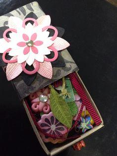 Matchbox Swap-goodies from Rita. Thx!