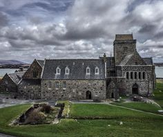 Iona Abbey is one of the oldest Christian centers in Western Europe. Christianity was brought to the Isle of Iona by St Columba in 563.