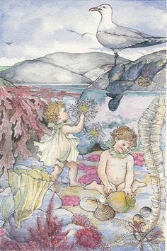The Water Babies written by Charles Kingsley, illustrated by Shirley Tourret