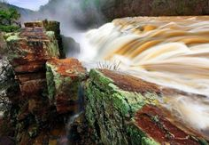Rock Wall, The Heart Of Man, Waterfall, This Or That Questions, Wallpaper, Places, Nature, Prompt, Outdoor