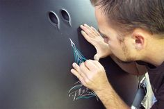car pinstriping All by hand?