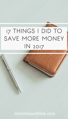 As 2017 comes to an end I thought it'd be a great time to reflect and calculate all the things I did to save money this year. Managed to save a whopping $8000 from this list alone! Check out 17 Things I did to Save More Money in 2017 for tips on how you can save more money in the new year!