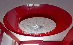 Top article on how to use Stretch ceilings in the modern interior design and apartment, stretch ceiling with stretched canvas and technology of suspended ceiling installation and stretch ceiling designs systems Pop Design, Wall Design, Roof Ceiling, Ceiling Lights, Bedroom False Ceiling Design, Ceiling Installation, Design System, Modern Interior Design, Decorative Bowls